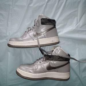 Nike Air Force 1 High Matte Silver Metallic 2009